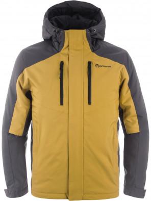 15d0c301fc340 Куртка утепленная мужская Outventure желтый/серый цвет — купить за ...