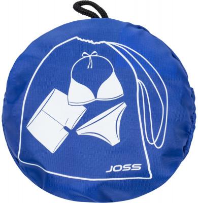 Мешок для мокрых вещей JossКомпактный мешок предназначен для переноски мокрых вещей. Выполнен из водонепроницаемой ткани, что уменьшает пропускание влаги из мешка.<br>Пол: Мужской; Возраст: Взрослые; Вид спорта: Плавание; Размер (Д х Ш), см: 20,5 х 27; Водоотталкивающая пропитка: Да; Материал верха: 100 % полиэстер; Производитель: Joss; Артикул производителя: ASR01A7Z3; Страна производства: Китай; Размер RU: Без размера;