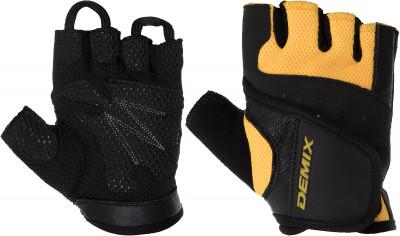 Перчатки для фитнеса Demix, размер XSПерчатки атлетические<br>Для комфорта и безопасности во время интенсивных тренировок. Предотвращают появление мозолей. Позволяют надежнее фиксировать снаряд в руках.
