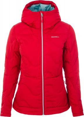 Куртка пуховая женская Merrell, размер 46Пуховики<br>Удобный и теплый пуховик от merrell - отличный выбор для походов в холодное время года.