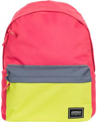 Рюкзак DemixОтличное качество, хорошая цена! Молодежный рюкзак лаконичного кроя выполнен из прочного износостойкого полиэстера, устойчивого к выцветанию.<br>Пол: Мужской; Возраст: Взрослые; Вид спорта: Спортивный стиль; Объем: 15 л; Размеры (дл х шир х выс), см: 31.5 x 12 x 40; Отделение для ноутбука: Есть; Количество отделений: 2; Производитель: Demix Basic; Артикул производителя: CUCG01_510; Страна производства: Китай; Материал верха: 100 % полиэстер; Материал подкладки: 100 % полиэстер; Размер RU: Без размера;