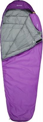 Outventure TREK T +3 WomenСпальные мешки<br>Туристический спальник-кокон от outventure для отдыха на природе. Комфортный температурный режим от 13 до 3 с.