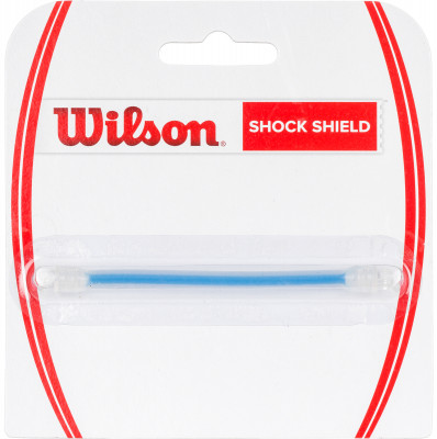Виброгаситель Wilson Shock Shield DampenerВиброгаситель для теннисной ракетки - змейка. Отлично убирает вибрацию от мяча. Не слетает со струны. В упаковке 1 шт.<br>Материалы: Полимерные материалы; Вид спорта: Теннис; Производитель: Wilson; Артикул производителя: WRZ537900; Страна производства: Тайвань; Размер RU: Без размера;