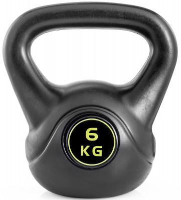 Гиря Kettler Basic, 6 кгГиря kettler basic для функционального тренинга. Удобная рукоять позволяет выполнять упражнения с гирей как одной, так и двумя руками.<br>Вес, кг: 6; Покрытие: Пластик; Состав: Пластик, минеральный наполнитель; Вид спорта: Силовые тренировки, Фитнес; Производитель: Kettler; Срок гарантии: 2 года; Артикул производителя: 7373-860; Страна производства: Китай; Размер RU: Без размера;