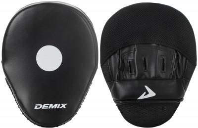 Лапа DemixСовершенная модель с жестким наружным слоем, ладонной и кистевой поддержкой, анатомической формой многослойного наполнителя.<br>Материал верха: Искусственная кожа; Материал наполнителя: пенополиуретан; Вид спорта: Бокс, Карате, ММА, Самбо, Тхэквондо; Производитель: Demix; Артикул производителя: DCS-501CVD; Срок гарантии: 3 месяца; Страна производства: Пакистан; Размер RU: Без размера;