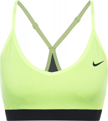 Бра Nike IndyБра nike indy - отличный выбор для тренировок с низкой интенсивностью, таких как йога, пилатес или растяжка.<br>Пол: Женский; Возраст: Взрослые; Вид спорта: Фитнес; Уровень поддержки: Легкая; Тип чашек: Съемные; Дополнительная вентиляция: Да; Технологии: Nike Dri-FIT; Производитель: Nike; Артикул производителя: 878614-716; Страна производства: Шри-Ланка; Материалы: 88 % полиэстер, 12 % эластан; Размер RU: 46-48;
