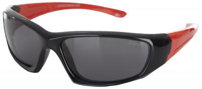 Солнцезащитные очки детские LetoЛегкие и удобные солнцезащитные очки leto с полимерными линзами в пластмассовой оправе.<br>Возраст: Дети; Пол: Мужской; Цвет линз: Серый; Цвет оправы: Черный, красный; Назначение: Детские; Ультрафиолетовый фильтр: Да; Поляризационный фильтр: Да; Зеркальное напыление: Нет; Категория фильтра: 3; Материал линз: Полимер; Оправа: Пластик; Вид спорта: Активный отдых; Производитель: Leto; Артикул производителя: LTS805PA; Срок гарантии: 1 месяц; Страна производства: Китай; Размер RU: Без размера;