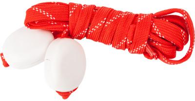 Шнурки светодиодные детские I-JumpШнурки со встроенными светодиодами разработаны специально для увеличения безопасности при занятии спортом в условиях плохой видимости.<br>Пол: Мужской; Возраст: Дети; Вид спорта: Аксессуары; Материалы: 35 % нейлон, 20 % пластик, 18 % полиэтилентерефталат, 10 % провод МГТФ, 10 % светодиоды, 7 % картон; Длина: 90 см; Производитель: I-Jump; Артикул производителя: ND-004-090-RED; Страна производства: Китай; Размер RU: 90;