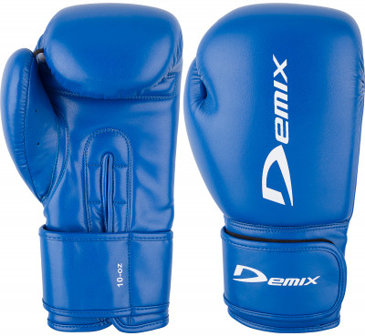 Перчатки боксерские DemixБоксерские перчатки из прочной искусственной кожи.<br>Вес, кг: 0,397; Тип фиксации: Липучка; Материал верха: Искусственная кожа; Материал наполнителя: Пенополиуретан; Материал подкладки: Полиэстер; Вид спорта: Бокс; Технологии: Memory Foam Demix; Производитель: Demix; Артикул производителя: DCS-202B14; Срок гарантии: 3 месяца; Страна производства: Пакистан; Размер RU: 14 oz;