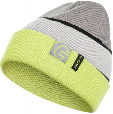 Шапка для мальчиков GlissadeСтильная двойная детская шапка с подворотом из акрила. Вязанная подкладка делает шапку теплой и защищает от ветра и холода.<br>Пол: Мужской; Возраст: Дети; Вид спорта: Горные лыжи; Производитель: Glissade; Артикул производителя: G7BAC4G20; Страна производства: Китай; Материал верха: 100 % акрил; Размер RU: Без размера;
