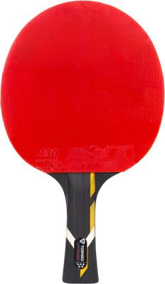 Ракетка для настольного тенниса Torneo Champion SpeedРакетка для настольного тенниса torneo champion speed станет отличным выбором для игроков с поставленным ударом, которые предпочитают атакующий стиль и скоростную игру и уже<br>Скорость: 10; Контроль: 9; Вращение: 9; Тип основания: OFF+; Материал основания: Платан, абачи, графит; Толщина основания: 6,5 мм; Форма ручки: Вогнутая; Тип накладки: Гладкая; Толщина губки: 2,2 мм; Материал накладки: Резина ITTF 830, губка; Вид спорта: Настольный теннис; Уровень подготовки: Профессионал; Технологии: HWM, NCT, Sandwich, Spin-Speed; Производитель: Torneo; Артикул производителя: TI-B5.50; Срок гарантии: 2 года; Страна производства: Китай; Размер RU: Без размера;