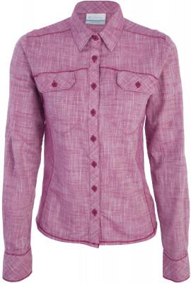 Рубашка с длинным рукавом женская Columbia Camp Henry, размер 50Рубашки<br>Рубашка с длинным рукавом непременно пригодится в летних путешествиях. Практичность в модели предусмотрено 2 кармана.