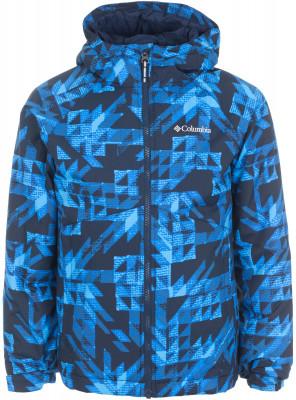 Куртка утепленная для мальчиков Columbia Icicle RunУтепленная куртка для мальчиков от columbia для путешествий и прогулок. Водонепроницаемость мембрана omni-tech надежно защищает от дождя и снега.<br>Пол: Мужской; Возраст: Дети; Вид спорта: Путешествие; Вес утеплителя на м2: 150 г/м2; Наличие мембраны: Да; Возможность упаковки в карман: Нет; Регулируемые манжеты: Да; Длина по спинке: 59 см; Покрой: Прямой; Светоотражающие элементы: Да; Дополнительная вентиляция: Нет; Проклеенные швы: Нет; Длина куртки: Средняя; Наличие карманов: Да; Капюшон: Не отстегиваетс; Мех: Отсутствует; Количество карманов: 2; Водонепроницаемые молнии: Нет; Застежка: Молния; Материал верха: 100 % нейлон; Материал подкладки: 100 % нейлон; Материал утеплителя: 100 % полиэстер; Технологии: Omni-Tech; Производитель: Columbia; Артикул производителя: 1743181438M; Страна производства: Вьетнам; Размер RU: 137-147;