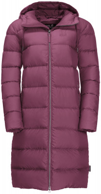 Пальто пуховое женское Jack Wolfskin Crystal Palace, размер 42