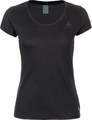 Футболка женская Odlo Active F-Dry Light, размер 46-48Футболки<br>Технологичная футболка из уникальной быстросохнущей ткани - оптимальный выбор для занятий бегом.