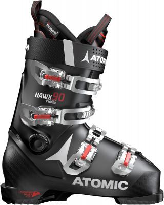 Ботинки горнолыжные Atomic Hawx Prime 90, размер 47Ботинки<br>Легкие и удобные ботинки atomic hawx prime 9 для продвинутых горнолыжников. Комфорт средняя жесткость и средняя ширина колодки для неагрессивного стиля катания.