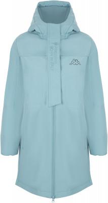 Фото - Куртку утепленная для девочек Kappa, размер 152 синего цвета