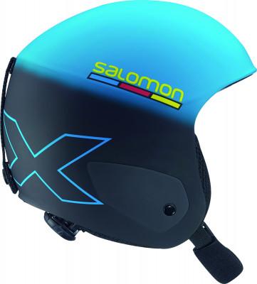 Шлем детский Salomon X RaceДетский шлем от salomon. Защита конструкция full shell и защита подбородка для безопасности на склоне. Комфорт съемная подкладка обеспечивает комфорт во время катания.<br>Пол: Мужской; Возраст: Дети; Вид спорта: Горные лыжи; Конструкция: Hard shell; Вентиляция: Принудительная; Сертификация: CE-EN1077 / ASTM F-2040; Регулировка размера: Есть; Тип регулировки размера: Custom Dial; Материал внешней раковины: Кевлар, фибергласс; Материал внутренней раковины: Пенополистирол; Материал подкладки: Полиэстер; Производитель: Salomon; Артикул производителя: L36701100; Срок гарантии: 2 года; Страна производства: Китай; Размер RU: 51-55;