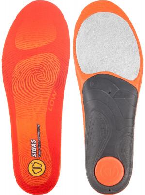 Стельки Sidas FeetСтелька sidas, специально разработанная для низкого свода стопы. Легкость использование пеноматериала эва обеспечивает низкий вес изделия.<br>Пол: Мужской; Возраст: Взрослые; Вид спорта: Спортивный стиль; Материалы: Композитные материалы, пена EVA, алюминий, пластик; Производитель: Sidas; Артикул производителя: CSE3FWI12_LO_05; Страна производства: Франция; Размер RU: 44-45;