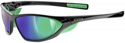 Солнцезащитные очки UvexСпортивные очки с антибликовым покрытием litemirror обеспечивают превосходную защиту от яркого солнца во время бега или катания на велосипеде.<br>Цвет линз: Зеленый зеркальный; Назначение: Бег,велоспорт; Пол: Мужской; Возраст: Взрослые; Вид спорта: Бег, Велоспорт; Ультрафиолетовый фильтр: Да; Зеркальное напыление: Да; Материал линз: Поликарбонат; Оправа: Пластик; Технологии: 100% UVA- UVB- UVC-PROTECTION, LITEMIRROR; Производитель: Uvex; Артикул производителя: S5303192716; Срок гарантии: 1 месяц; Страна производства: Тайвань; Размер RU: Без размера;