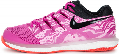 Кроссовки женские Nike Air Zoom Vapor X Hc, размер 37Кроссовки <br>Теннисные кроссовки nike air zoom vapor x обеспечивают безупречный контроль движений и превосходную амортизацию.