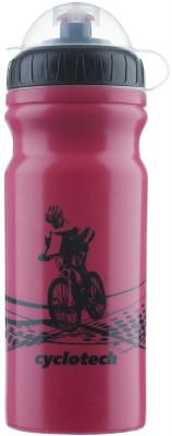 Фляжка велосипедная CyclotechФляжка для крепления на велосипед. Особенности модели: защитная крышка от грязи; объ м 680 мл.<br>Объем: 0,68; Размеры (дл х шир х выс), см: 18 x 7,5 x 7,5; Материалы: Полиэтилен; Вид спорта: Велоспорт; Производитель: Cyclotech; Артикул производителя: CBOT-1P.; Страна производства: Тайвань; Размер RU: Без размера;