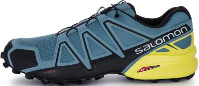 Кроссовки мужские Salomon Speedcross 4, размер 40Бег по бездорожью <br>Четвертое поколение легендарных беговых кроссовок speedcross 4 от salomon.