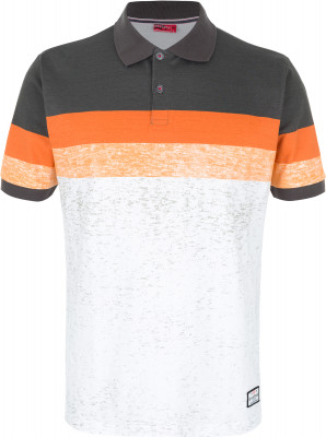 Поло мужское Exxtasy Keystone, размер 44-46Surf Style <br>Мужская рубашка-поло от exxtasy - отличный выбор для яркого пляжного отдыха. Комфортная посадка зауженный крой обеспечивает комфортную посадку по фигуре.