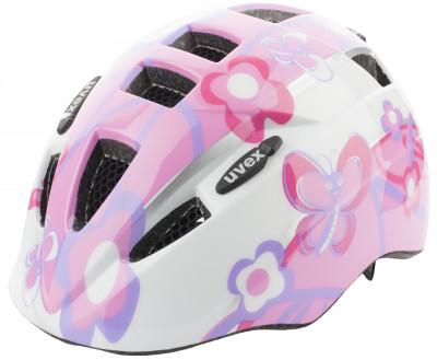Шлем велосипедный детский UvexНадежный и легкий шлем для детей в возрасте от 1 до 3 лет.<br>Конструкция: In-mould; Вентиляция: Принудительная; Регулировка размера: Да; Тип регулировки размера: Поворотное кольцо IAS; Материал внешней раковины: Поликарбонат; Материал внутренней раковины: Вспененный полистирол; Материал подкладки: Полиэстер; Сертификация: EN 1078; Вес, кг: 0,185; Производитель: Uvex; Артикул производителя: S4143061915; Срок гарантии: 6 месяцев; Страна производства: Китай; Размер RU: 46-52;