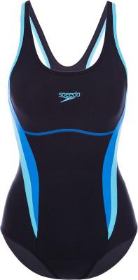 Купальник женский Speedo Sport, размер 46-48Купальники <br>Женский спортивный купальник с контрастными вставками от speedo. Защита от хлора ткань endurance10 устойчива к активным компонентам хлора.