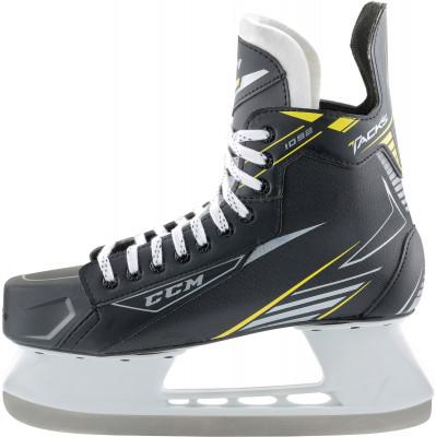 Коньки хоккейные детские CCM SK CCM 1092Детские хоккейные коньки ccm tacks 1092, линии tacks, рекомендуются широкому кругу любителей хоккея.<br>Вес, кг: 475 г. в размере 29; Термоформируемый ботинок: Да; Материал ботинка: Нейлон; Материал подкладки: Микроволокно; Материал лезвия: Углеродистая сталь; Анатомический ботинок: Да; Широкая колодка: Да; Тип фиксации: Шнурки; Усиленный ботинок: Нет; Анатомические вкладыши: Нет; Материал подошвы: Пластик; Сезон: 2017/2018; Пол: Мужской; Возраст: Дети; Вид спорта: Хоккей; Технологии: E-PRO, FELT TONGUE (5mm), REINFORCED CLEAR TPU INJECTED OUTSOLE WITH EXHAUST SYSTEM; Производитель: CCM; Артикул производителя: 3499080; Срок гарантии: 3 года; Страна производства: Китай; Размер RU: 28;