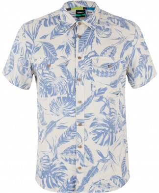 212a98cfc9f Рубашка мужская Termit бежевый голубой цвет - купить за 899 руб. в ...