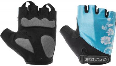 Велосипедные перчатки Cyclotech CannaПрочные удобные перчатки хорошо вентилируются, не дают руке скользить на руле и частично гасят неприятные вибрации. Отлично садятся по руке.<br>Материал верха: Лайкра; Материал подкладки: Искусственная кожа; Тип фиксации: Липучка; Производитель: Cyclotech; Артикул производителя: CANNA-BXS; Срок гарантии: 6 месяцев; Страна производства: Пакистан; Размер RU: 5,5;