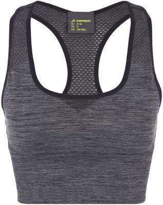 Бра Demix, размер 48Бра<br>Бра для фитнес-тренировок от demix. Комфорт бесшовный материал не натирает кожу. Дополнительная вентиляция сетчатые зоны улучшают воздухообмен.