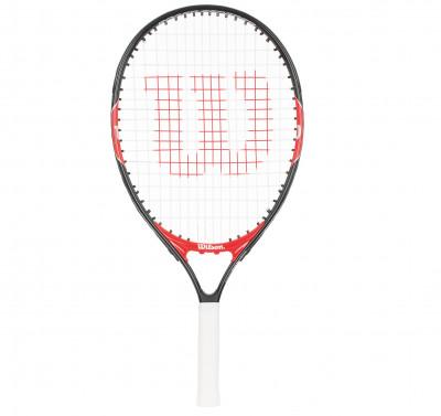 Ракетка для большого тенниса детская Wilson Roger Federer 21Ракетка для начинающих wilson roger federer 21 рассчитана на юных спортсменов. Маневренность легкость делает ракетку более маневренной.<br>Вес (без струны), грамм: 195; Материал ракетки: Алюминий; Толщина обода: 20,5 мм; Стиль игры: Защитный стиль; Размер головы: 851 кв.см; Длина: 21; Материалы: Алюминий; Струнная формула: 16х16; Наличие струны: В комплекте; Наличие чехла: Опционально; Вид спорта: Теннис; Производитель: Wilson; Артикул производителя: WRT200600; Срок гарантии: 2 года; Страна производства: Китай; Размер RU: Без размера;