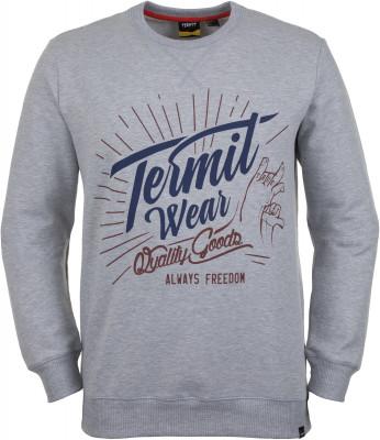 Джемпер мужской Termit, размер 48Skate Style<br>Джемпер termit для городского спорта и активного отдыха. Комфорт в модели предусмотрены удобные эластичные манжеты и низ.
