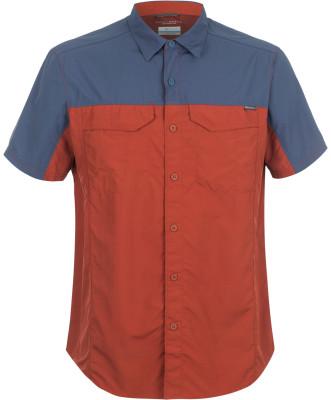 Рубашка мужская Columbia Silver Ridge BlockedМужская рубашка с коротким рукавом для активного отдыха и походов от columbia.<br>Пол: Мужской; Возраст: Взрослые; Вид спорта: Походы; Покрой: Прямой; Количество карманов: 2; Застежка: Пуговицы; Технологии: Omni-Shield, Omni-Wick; Производитель: Columbia; Артикул производителя: 1759821808L; Страна производства: Индия; Материал верха: 100 % нейлон; Размер RU: 48-50;