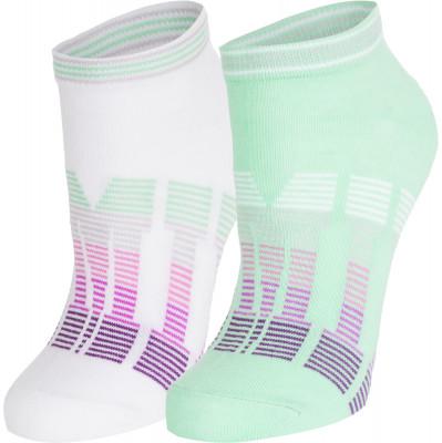 Носки женские Demix, 2 парыУниверсальные носки из качественного дышащего материала. Женские носки подходят для занятий бегом. В комплекте 2 пары.<br>Пол: Женский; Возраст: Взрослые; Вид спорта: Бег; Материалы: 56 % хлопок, 40 % нейлон, 4 % эластан; Производитель: Demix; Артикул производителя: HWCZ01_UWM; Страна производства: Пакистан; Размер RU: 39-42;