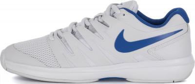 Кроссовки мужские Nike Air Zoom Prestige Hc, размер 41,5Кроссовки <br>Мужские теннисные кроссовки nike air zoom prestige обеспечивают комфортную плотную посадку и поддержку на корте. Модель подходит для грунтового покрытия.