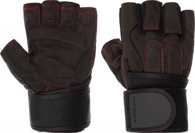 Перчатки атлетические Demix Fitness Gloves With Wrist Strap, размер 9,5