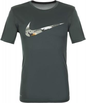 Футболка мужская Nike Dry Legend, размер 44-46Футболки<br>Футболка классического покроя nike dry legend, выполненная из влагоотводящей ткани, станет отличным вариантом для тренировок.
