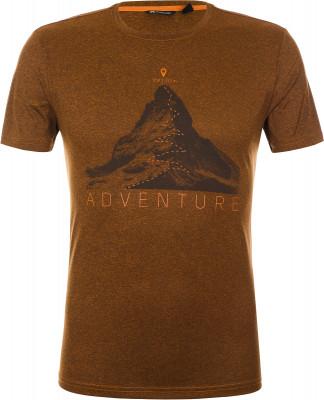 Футболка мужская Outventure, размер 50Футболки<br>Практичная футболка для походов и активного отдыха на природе от outventure. Отведение влаги пропитка add cool способствует эффективному влагоотводу.