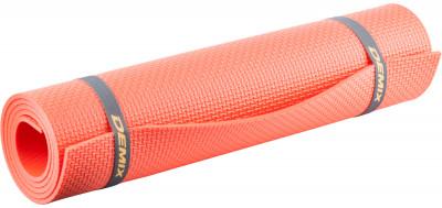 Коврик для фитнеса DemixСовременный, легкий и компактный аксессуар для занятий фитнесом в домашних условиях. Удобные стяжки для хранения и переноски в комплекте. Размер 140 x 50 x 0, 6 см.<br>Толщина: 6 мм; Вес, кг: 0,2; Размер (Д х Ш), см: 140 x 50; Состав: 100 % полиэтилен; Производитель: Demix; Артикул производителя: D-845K; Страна производства: Россия; Размер RU: Без размера;