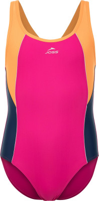 Купальник для девочек Joss, размер 152Купальники <br>Яркий купальник от joss прекрасно подойдет для тренировок в бассейне. Свобода движений продуманный крой гарантирует комфортную посадку и полную свободу движений.