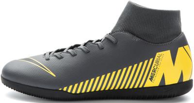 Бутсы мужские Nike Mercurial Superfly 6 Club IC, размер 40Бутсы<br>Необычно удобные бутсы от nike станут превосходным выбором для игры в зале контроль текстура верха обеспечивает превосходное чувство мяча.