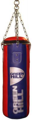 Мешок набивной Green Hill, 20 кгНабивной мешок с подвесной системой. Верх сделан из синтетической кожи. Вес: 20 кг.<br>Вес мешка: 20 кг; Высота мешка: 70 см; Диаметр мешка: 25 см; Материал верха: Искусственная кожа; Материал наполнителя: Резиновая крошка, текстиль; Подвесная система: В комплекте; Тип подвесной системы: Цепь; Вид спорта: Бокс, Карате, ММА, Самбо, Тхэквондо; Производитель: Green Hill; Артикул производителя: PBR 70*25; Срок гарантии: 1 год; Страна производства: Пакистан; Размер RU: 70 см;