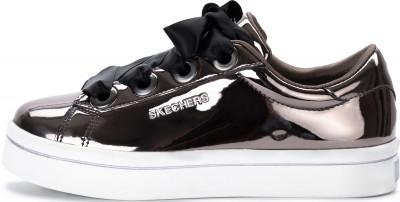 Купить Кеды для девочек Skechers Hi-Lite-Liquid Bling, размер 34,5 серого цвета