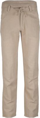 Брюки мужские Outventure, размер 50Брюки <br>Удобные брюки от outventure пригодятся в путешествиях. Натуральные материалы ткань из льна с хлопком обеспечит комфорт в жаркие дни.