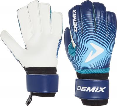 Перчатки вратарские Demix, размер 9Перчатки<br>Вратарские перчатки. Ладонь из латекса supersoft обеспечивает хорошее сцепление с мячом. Скругленная форма перчатки облегчает прием мяча.