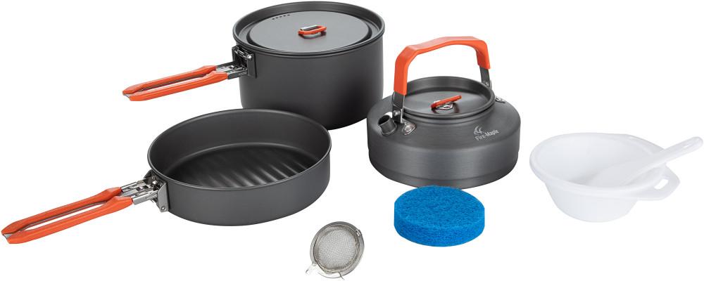 Набор посуды: котелок, сковорода, чайник Fire-Maple FEAST 2 FEAST2